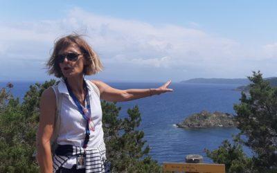 Charlotte Grégoire de Bollemont, guide conférencière