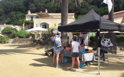 L'association «Explore & Preserve» en mission sensibilisation à Port-Cros
