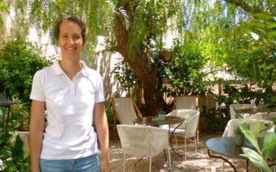Léa Bérenguer, hôtel La Bienvenue