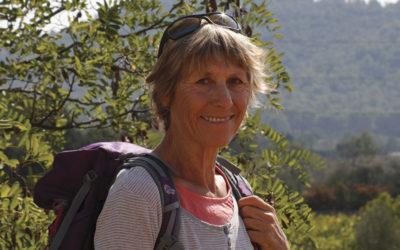Mireille Perolini, guide accompagnatrice