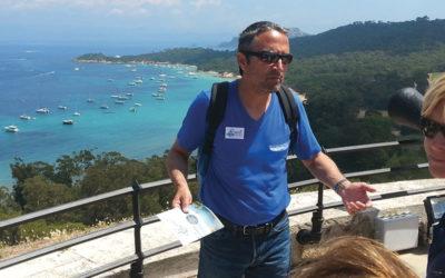 Jérôme Vian, guide conférencier